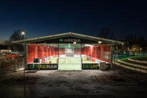 Kursort Kanga AOK Arena Schorndorf